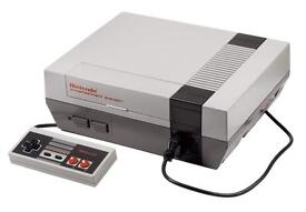 Nes console wanted