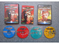Command & Conquer Red Alert 2 + Yuri's Revenge, PC game, 4 CDs, Westwood Studios