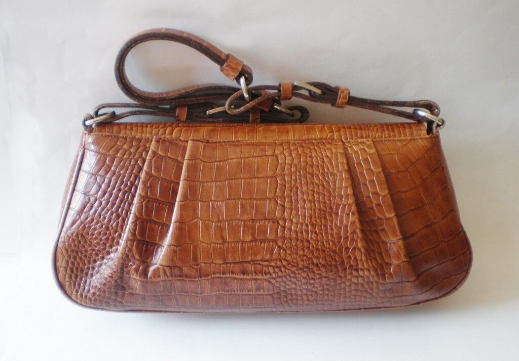 Authentic Vintage Leather Prada Handbag