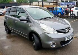 NISSAN NOTE 1.6 N-TEC PLUS 5d AUTO 110 BHP Apply for finance Online today! (grey) 2012