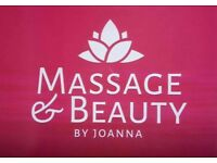 Massage & Beauty by Joanna - now on Buchanan St.
