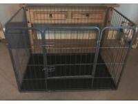 Large puppy pen whelping (dog cage)