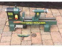 Record Power DML305 Midi Lathe