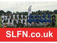 Looking for new players to join our football club. Play football London: ref 101ih34