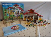 Playmobil - Riding Stables set - boxed & good condition with a couple of small accessories missing
