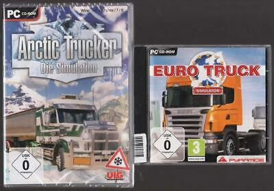 Arctic Trucker Die Simulation + Euro Truck Simulator LKW Trucks PC Spiele (Truck Simulator Pc Spiele)