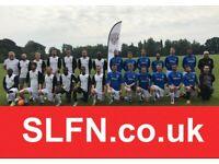 Goalkeeper Wanted Men's 11 a side Football Team. FIND LOCAL SOCCER TEAM UK