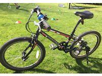 Dawes Academy 20 children's bike. Lightweight 20 inch frame, 7 speed. Excellent condition.