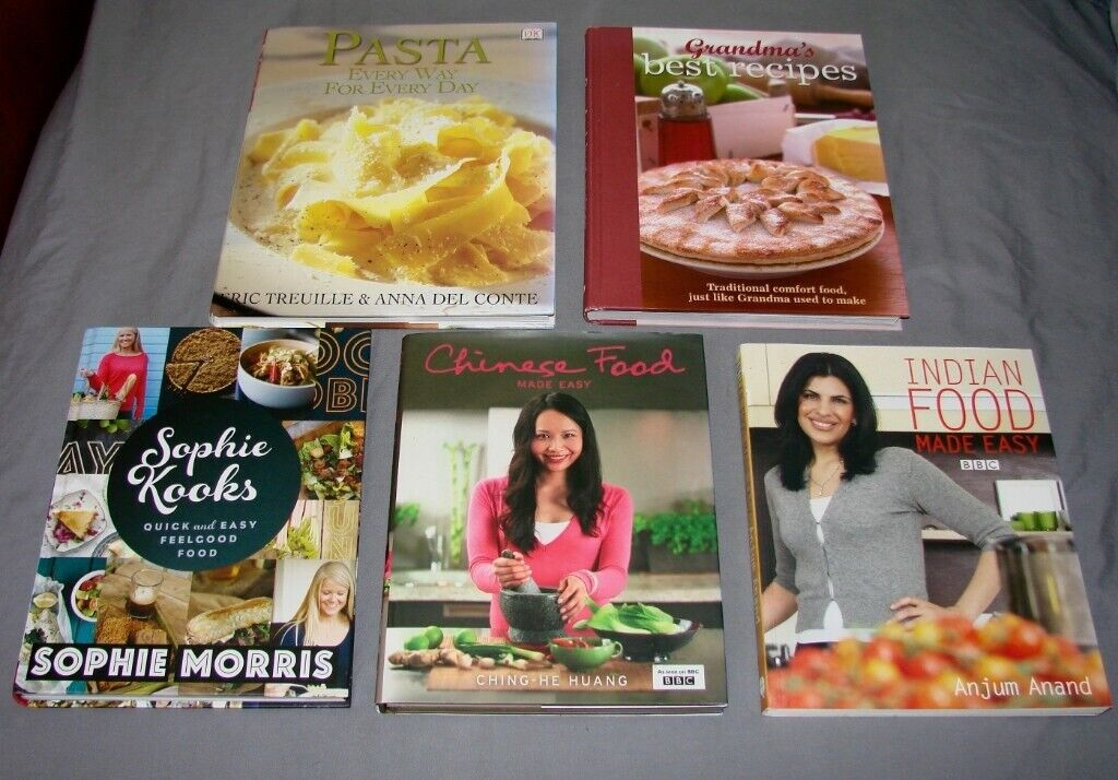 Available As Of Sat 3rd X5 Books Cook Cookery Hardback Rrp Over 65 Collection Nr2 In Norwich Norfolk Gumtree