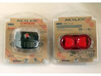 HIGH SPEC COMMUTING BIKE LIGHTS. BETTER QUALITY&BRIGHTER THAN CATEYE HL-EL135/OMNI 3/5 PLEASE READ