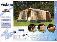 Cabanon Andorra Canvas frame tent. Amazing quality for sale  Kingskerswell, Devon