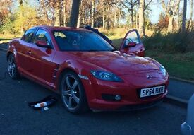 Have for sale Mazda RX8 with low mileage..