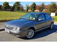 JAGUAR X-Type 2.0 D S , MOT OCT 2017, MAIN DEALER FSH, LEATHER INTERIOR, IMMACULATE CONDITION