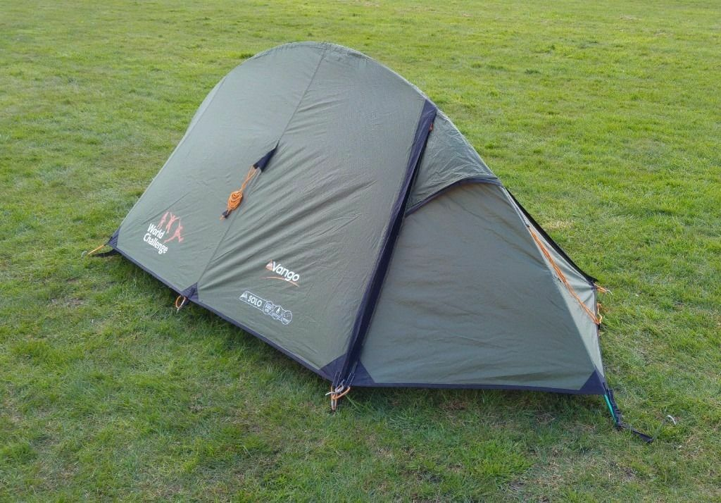 Vango Solo 100 1 man tent World Challenge Branded brand new(sealed) - & Vango Solo 100 1 man tent World Challenge Branded brand new ...