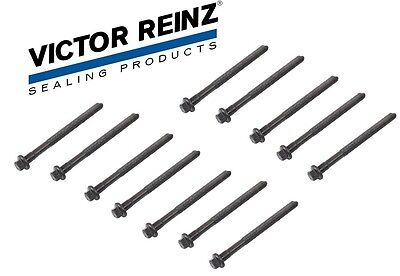 12-Head Bolts Victor Reinz Engine Cylinder Head Bolts Set For -