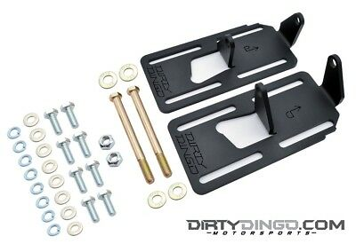 Ls1 Engine Mounts (Dirty Dingo Adjustable Conversion Engine Mounts LS1 Swap 88-98 2WD GM Truck RAW )