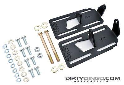 Ls1 Engine Mounts (Dirty Dingo Adjustable Conversion Engine Mounts LS1 Swap 88-98 4WD GM Truck RAW )