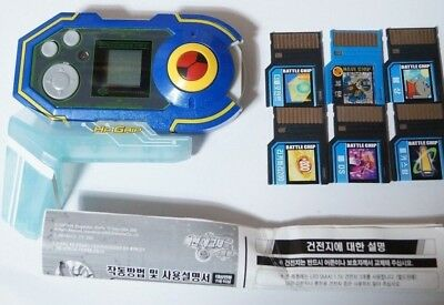 TAKARA Rockman EXE (Mega Man) : DX PROGRESS PET SET BLUE SET NO BOX