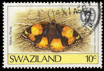 "SWAZILAND 506 (SG516) - Butterflies ""Yellow Pansy"" (pa34339)"