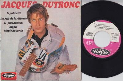 J. DUTRONC * 1967 French SITAR PSYCH MOD FREAKBEAT GARAGE EP * Listen!