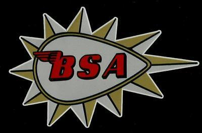"""""""BSA FUEL TANK"""" VINYL DECAL STICKER MOTORCYCLE CAFE RACER ARIEL INDIAN BSA HOG !"""
