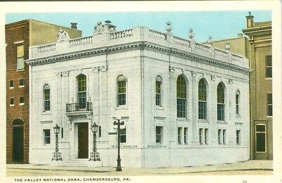 Chambersburg Pa The Valley National Bank