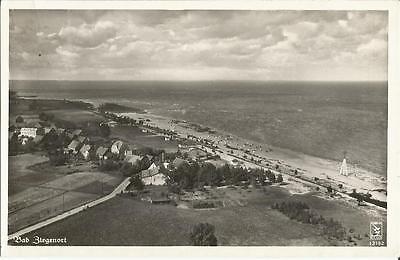 Bad Ziegenort in Pommern, alte Ansichtskarte um 1935, Fliegeraufnahme, Luftbild