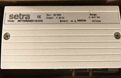 Setra 267 267mr Differential Pressure Transducer Nib Model-2671mr4wd11a1cn