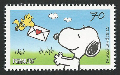 Snoopy and Woodstock Peanuts Valentine's Day Love Puppy Dog Stamp MINT CONDITION](Peanuts Valentine)