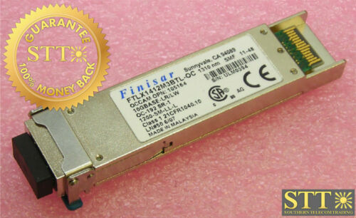Ftlx1412m3btl Finisar 10gbase-lr/lw Oc-192 Sr-1 1310nm Smf Transceiver