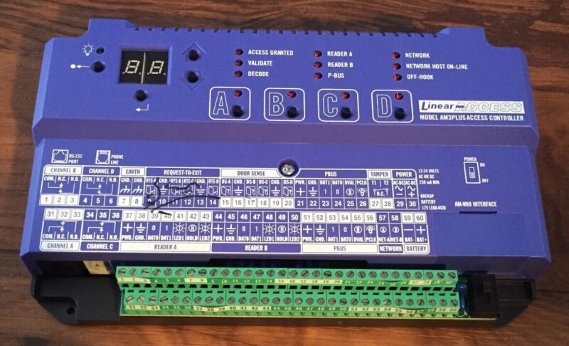 Linear Access AM3PLUS Access Controller