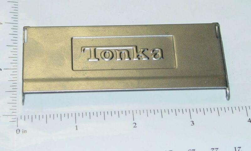 Tonka Stepside Embossed Stamped Steel Tailgate Toy Part TKP-047