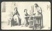 Estampa Antigua De La Sagrada Familia Andachtsbild Santio Holy Card Santini -  - ebay.es