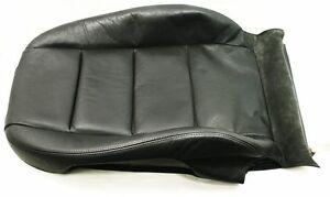 RH-Front-Backrest-Cover-02-08-Audi-A4-S4-B6-B7-Heated-Black-Leather-Passenger