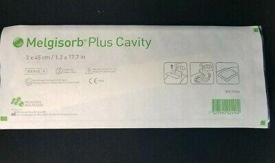 5 Melgisorb Plus Cavity Absorbent Calcium Alginate Dressing Molnlycke 1.2x17.7in