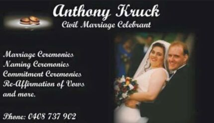 Anthony Kruck Civil Marriage Celebrant