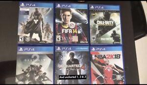 Trade PS4 Games