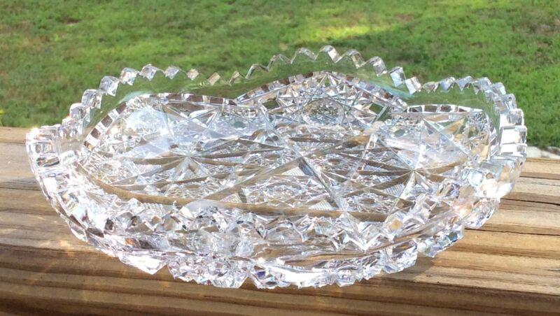 Rare Meriden Cut Glass Pattern #166 Bowl