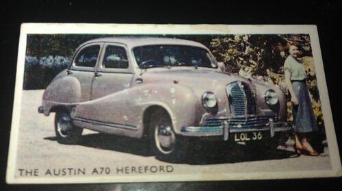 1952 AUSTIN A70 Hereford   Orig Trading Card RSPOA UK