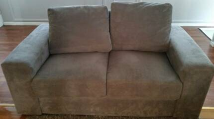 Lounge - 2 seater + 3 seater sofa bed with chaise