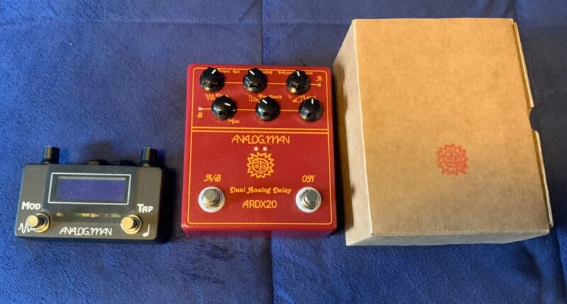 Analog Man ARDX20 Dual Analog Delay And Amaze1