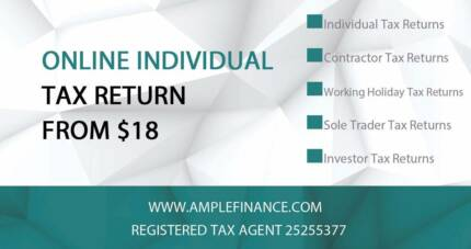 Online Individual Tax Return from $18