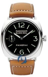 New in Box Panerai Radiomir Black Seal 45mm Mens Watch PAM00183 PAm 183