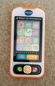 Vtech baby's 1st smartphone.