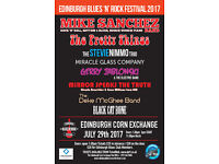 Edinburgh Blues n Rock Festival - Edinburgh Corn Exchange July 29th 2017