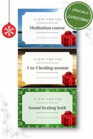 *Christmas Special* Meditation, Healing session, Sound healing - gift of experience