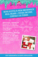 Calling all Mall Santa Claus wanted for Dartmouth Nova Scotia