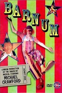 BARNUM (1986 Michael Crawford)   -  DVD - UK Compatible - New & sealed
