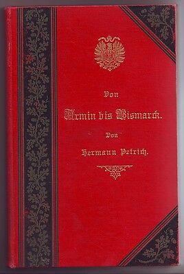 Von Armin bis Bismarck  Hermann Petrich  1887  Erzählungen