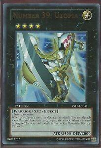 Yugioh Card - Number 39: Utopia *Ultra Rare* YS12-EN039 (NM/M)